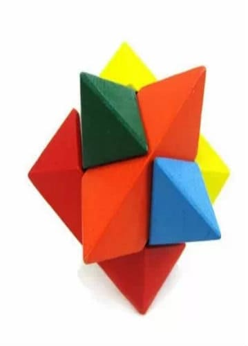 Wooden Puzzle - Eight Corner