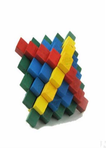 Wooden Puzzle - 24 Lock