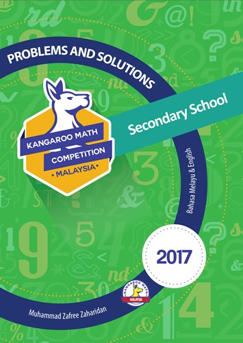 Kangaroo Math Competition Problems and Solutions 2017 Secondary School
