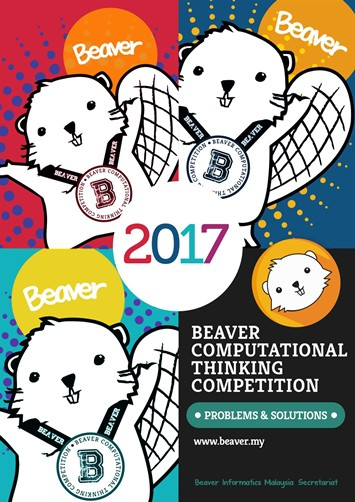 Beaver Computational Thinking Competition : Problems & Solutions 2017